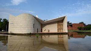 The term of the last Panjab University senate expired on October 31.(HT Photo)