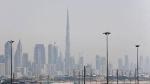 An oil and gas producer, the UAE's economy has been hit by the coronavirus pandemic and low oil prices, prompting many expatriates to leave(REUTERS)