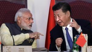 Prime Minister Narendra Modi with Chinese President Xi Jinping(AP photo)