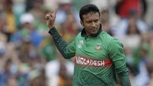 Bangladesh's Shakib Al Hasan.(AP)