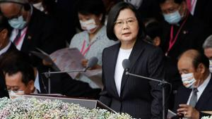 Chung T'ien News has often strongly critical of President Tsai Ing-wen, who views the island as a de facto independent nation(REUTERS)
