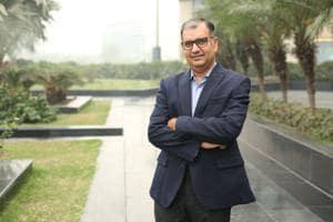 Mr. Sumit Saran (Director for S.S Associates) speaks on Leadership principles(Photo : Manoj Verma / HT)