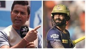'You win four of your first seven matches': Aakash Chopra questions if Dinesh Karthik really gave up KKR captaincy