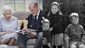 Royal kids' handmade card for their great-grandparents is too adorable to miss(Instagram/kensingtonroyal)