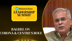 'PM sought 21 days on Covid': CM Baghel says Centre didn't help much #HTLS2020