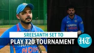 Watch: After 7-year ban, pacer Sreesanth set to play T20 tournament in Kerala