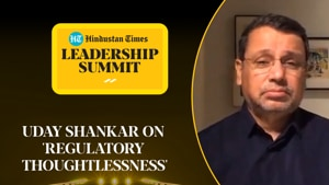 'Regulatory thoughtlessness': Uday Shankar on OTT vs TV, TRP scandal #HTLS2020