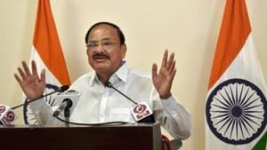 Vice president M Venkaiah Naidu will chair the Shanghai Cooperation Organisation's (SCO) council of heads of government summit on November 30.(PTI PHOTO.)