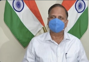 Delhi Health Minister Satyendra Jain said on Saturday that the coronavirus vaccine will be administered to all residents of the national capital within 3-4 weeks of its availability(ANI on Twitter)