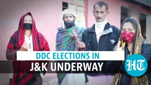 DDC polls: Voting underway in J&K; first election after Article 370 abrogation