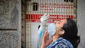 The Capital logged 4,998 new infections as per Saturday's daily health bulletin, which records data primarily from a day earlier, on the back of a record 69,051 new tests, up significantly from 64,455 the previous day.(File Photo)