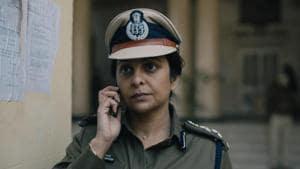 Shefali Shah in Delhi Crime.
