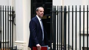 Britain's Foreign Affairs secretary Dominic Raab arrives at Downing Street in London, Britain.(Reuters/ File photo)