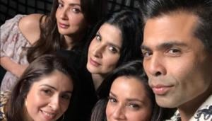 Karan Johar appeared in Fabulous Lives of Bollywood Wives.
