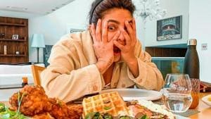 Priyanka Chopra shares a pic of her grand temptation, has a query