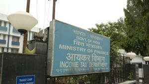 The office of chief commissioner of the Income Tax department in Dehradun is seen in this file photo.(Mint Photo)