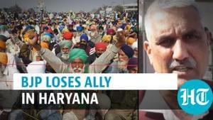 Farmer protest: BJP loses ally in Haryana; Sombir Sangwan withdraws support