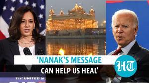 Guru Nanak Jayanti: Joe Biden, Kamala Harris, Justin Trudeau extend wishes
