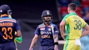 Thrice in 3 matches:Is Josh Hazlewood turning Virat Kohli  his bunny?