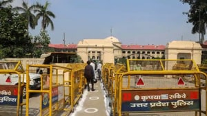 The Lucknow bench of the Allahabad High Court.(PTI FILE PHOTO)