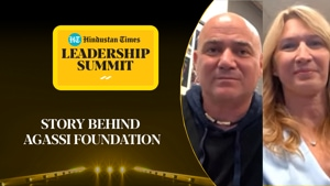 What inspired Andre Agassi to open a charitable foundation l #HTLS2020