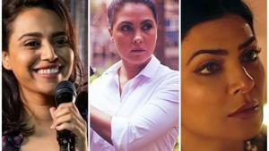 Actors Sushmita Sen, Swara Bhasker and Lara Dutta have headlined projects such as Aarya, Bhaag Beanie Bhag and Hundred, respectively this year on OTT.