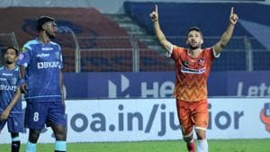 FC Goa beat Kerala Blasters 3-1(ISL/Twitter)