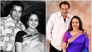 Dharmendra and Hema Malini have completed 40 years of married life.