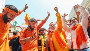 The construction of Ram Temple at Ayodhya is behind schedule due to delays caused by Covid 19 pandemic.(PTI Photo/File/Representational)