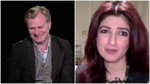 Twinkle Khanna made Christopher Nolan chuckle multiple times during the interview.