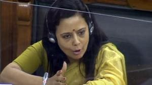 Trinamool Lok Sabha MP Mahua Moitra asked why the central security forces could not foil the 'attack' on BJP convoy on Thursday. (File photo)(ANI)