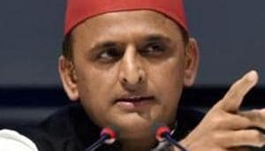 Akhilesh Yadav's party has been backing the farmers' stir against three new agri laws.(PTI)