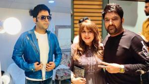 Kapil Sharma has shared a message for wife Ginni Chatrath on their wedding anniversary.