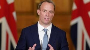 Britain's Secretary of State for foreign affairs Dominic Raab.(File photo)