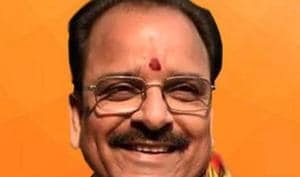 Senior BJP leader Ajay Bhatt had recently come in contact with JP Nadda, national president of Bharatiya Janata Party, who was on a four-day visit to Uttarakhand in the first week December.(TWITTER/@AjaybhattBJP4UK.)