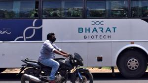 Bharat Biotech has developed the whole-virion inactivated SARS-CoV-2 vaccine candidate (BBV152) in collaboration with ICMR.(Reuters File Photo)