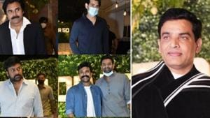 Top actors from the Telugu film industry made it to Dil Raju's birthday bash.