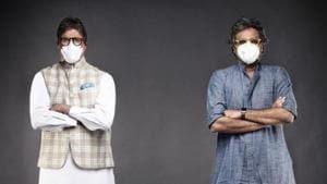 Amitabh Bachchan contracted the coronavirus in July.