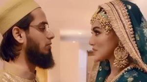 Sana Khan and Anas Saiyad tied the knot in November.