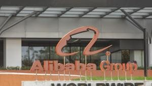 The Alibaba Group Holding Ltd. headquarters during the company's annual November 11 Singles' Day online shopping event in Hangzhou, China. The Uighur issue looms as a worrying threat for Chinese companies as global criticism grows over Beijing's policies in the northwest region of Xinjiang.(Bloomberg)