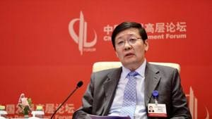 China's former finance minister Lou Jiwei suggested that China could restrict the number of banks a single fintech platform can partner with(REUTERS)