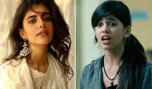 Sanjana Sanghi made her screen debut with a supporting role in Rockstar.