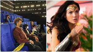 Hrithik Roshan watched Gal Gadot's Wonder Woman 1984 with his sons on Wednesday.