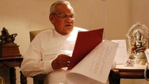 Atal Bihari Vajpayee was a complex political figure — but there is little doubt that his complex worldview, which defies easy categorisations, helped shape the India of today.(File photo)