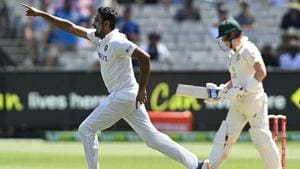 R Ashwin dismissed Steve Smith for a duck(Getty Images)