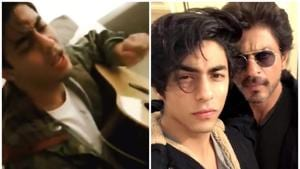Aryan Khan sings Charlie Puth's Attention in a new video.