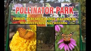 The park has around 50 different pollinator species, which include various species of butterflies, honeybees, birds and other insects.(ANI)