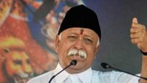 The RSS chief said the journey of 'Kesari' during the past 70 years has not been a comfortable one and this fact should be understood by the present generation.(PTI (Representative Image))
