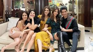 "On the last day of 2020, celebrity fashion designer Manish Malhotra on Thursday looks forward to 2021 with ""fabulous and amazing girls"".(Instagram)"