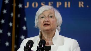 Janet Yellen, US President-elect Joe Biden's nominee to be treasury secretary, was the Federal Reserve chair from 2014 to 2018.(REUTERS)